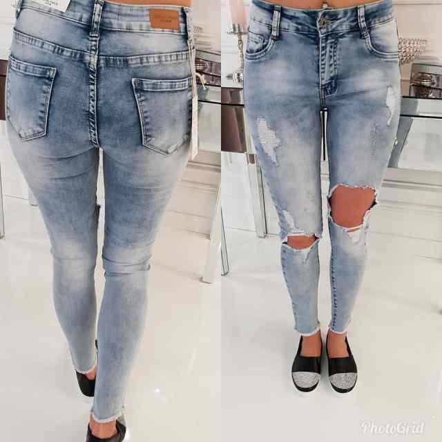 Strech teksapüksid kulutusega