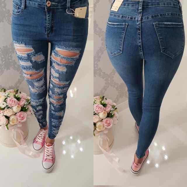 Strech teksapüksid eest kulutatud