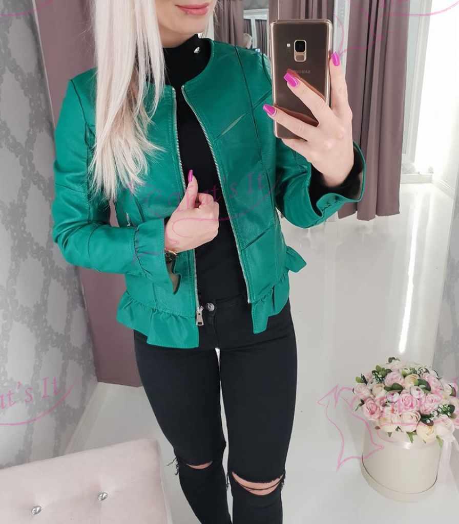 Roheline armas nahktagi