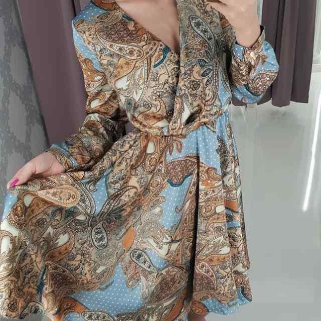 Kvaliteetne kirju kleit