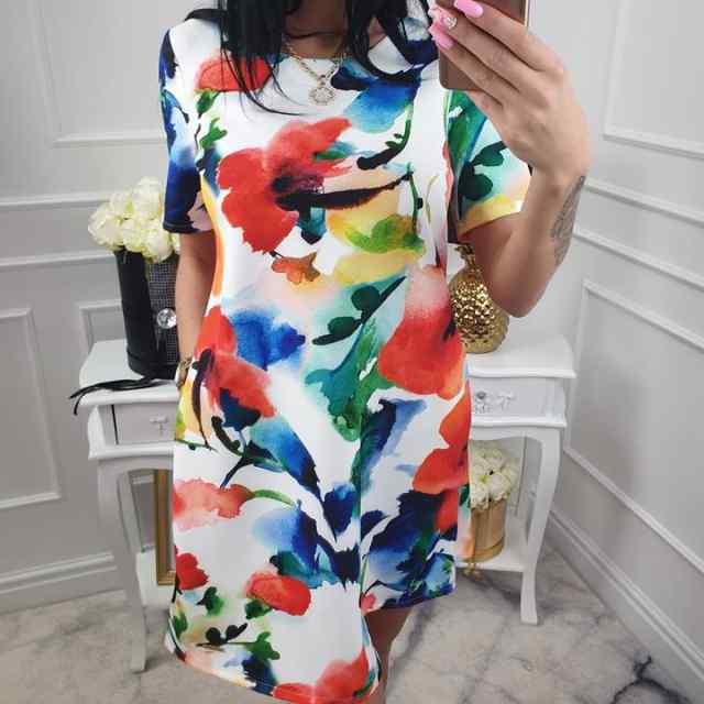 Kvaliteetne kleit taskutega, superkenad värvid!