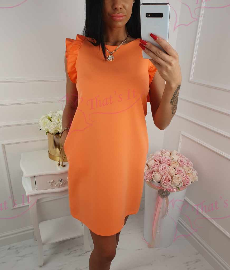 Kvaliteetne volangiga kleit