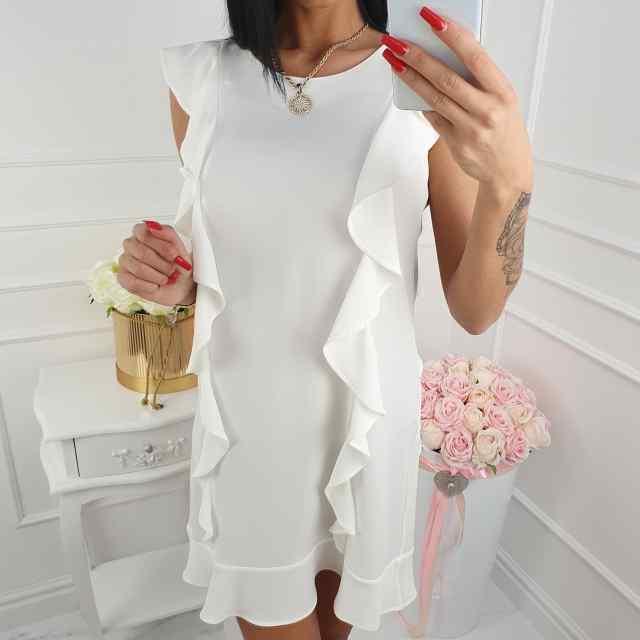 fd52c363fc4 Kvaliteetne volangiga kleit
