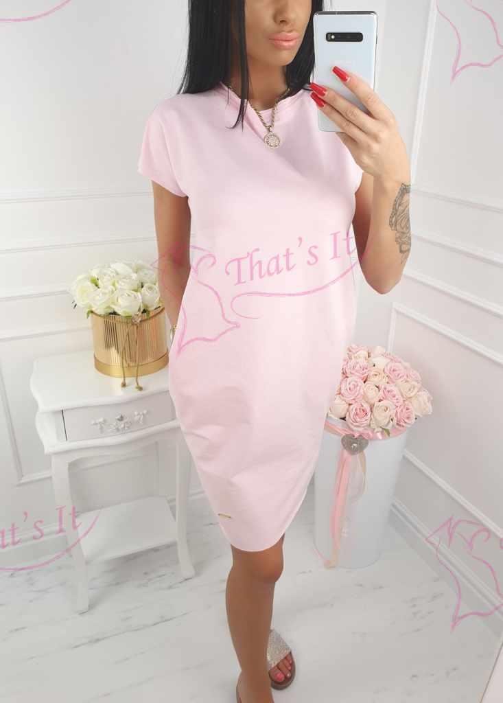 be34db39b02 Kvaliteetne puuvillasemast kangast igapäevane taskutega kleit ...