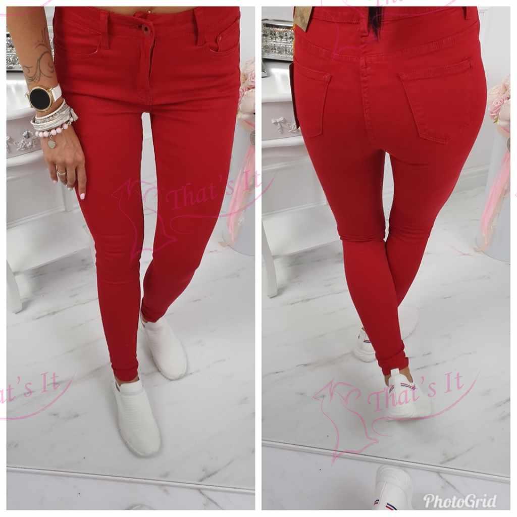 Mugavad punased püksid