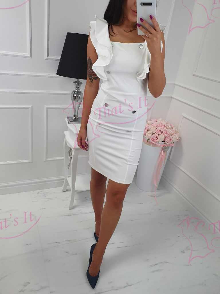 Naiselik valge kleit