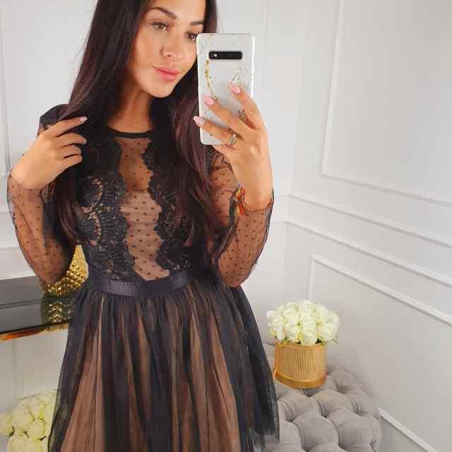 Armas naiselik kleit telliga