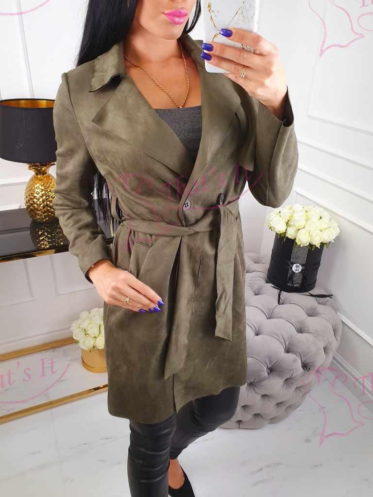 Seemisnahkne stiilne jakk. Seljas super mugav!