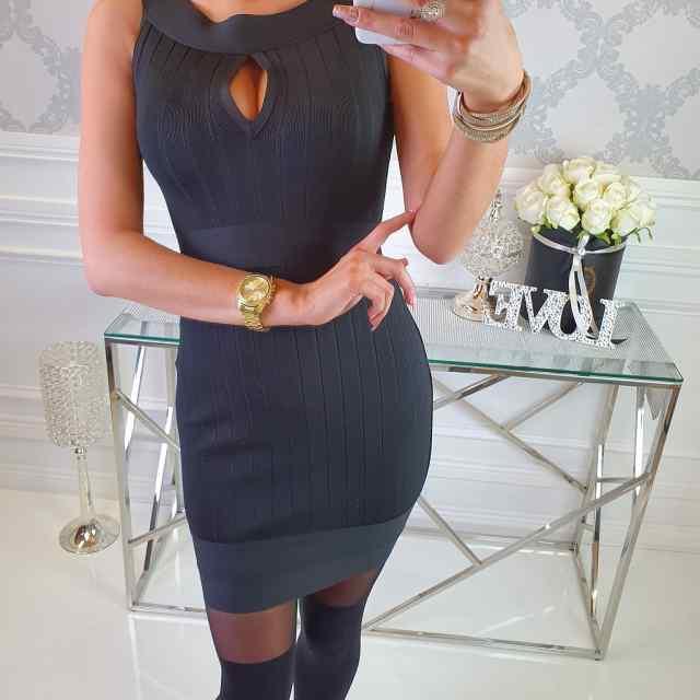 Kvaliteetne klassikaline bandage(vormiv) kleit