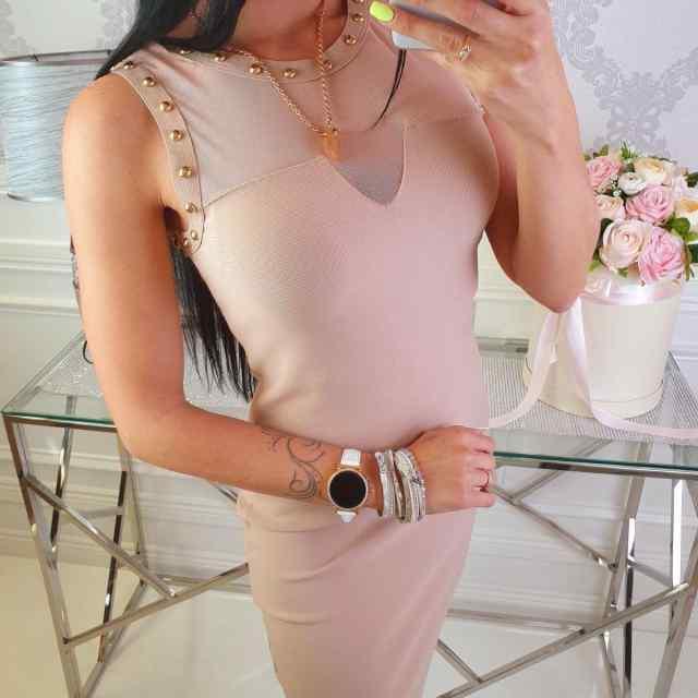 Vormivast kangast kaunis kleit