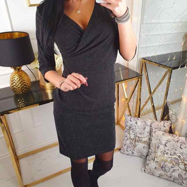 Sädelevast kangast kleit