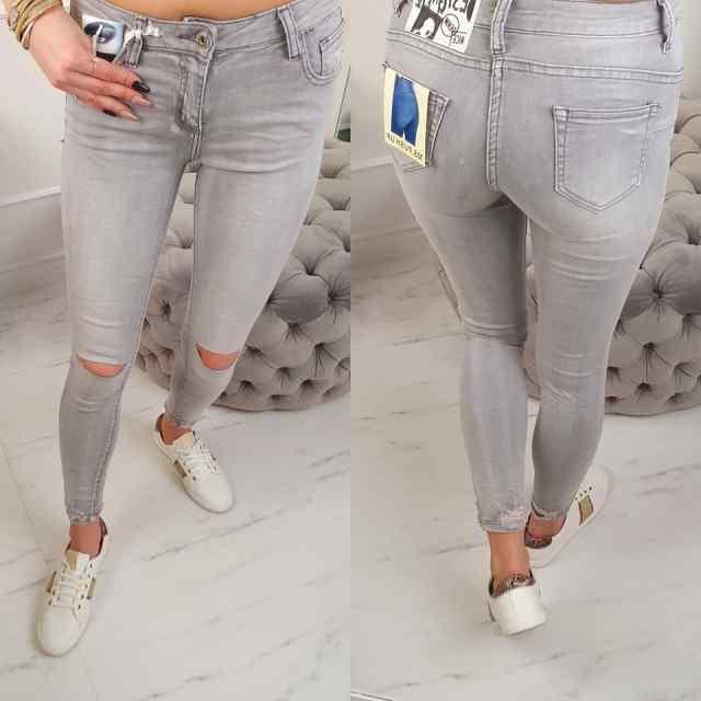 Kvaliteetsed teksad lõhkiste põlvedega FL1612