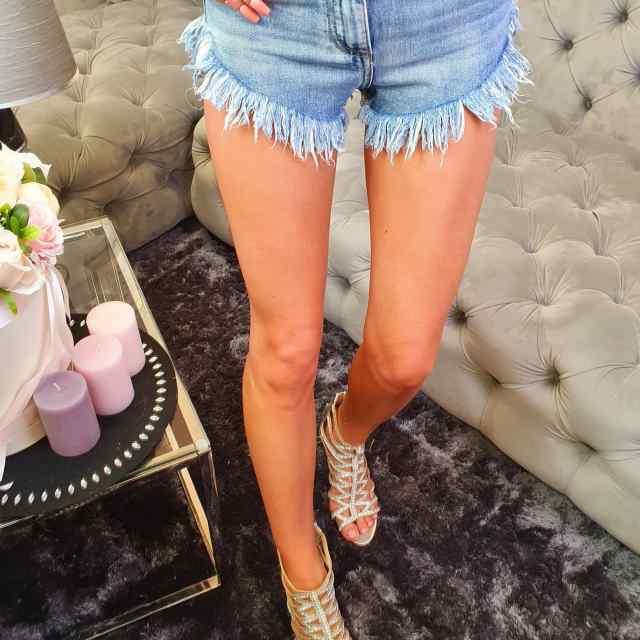 Narmastega lühikesed püksid