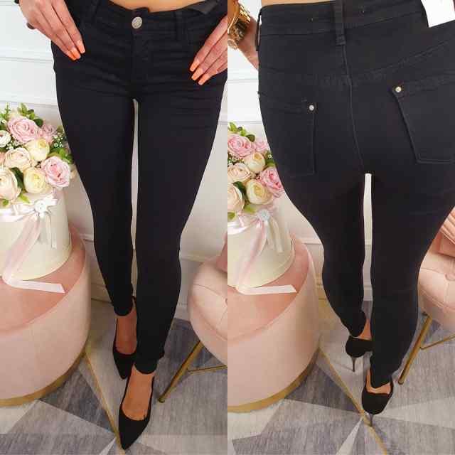Strechid klassikalised teksapüksid Q550-1