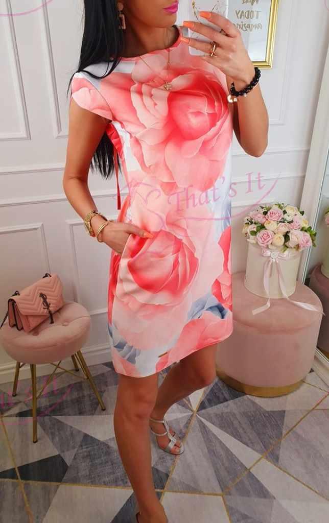 Kvaliteetne kleit, tagant paelaga kinnitatav