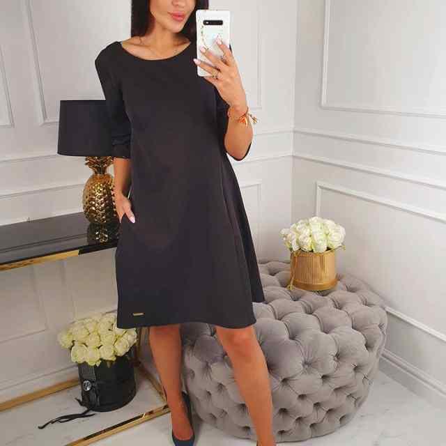 Kvaliteetne A-lõikeline kleit