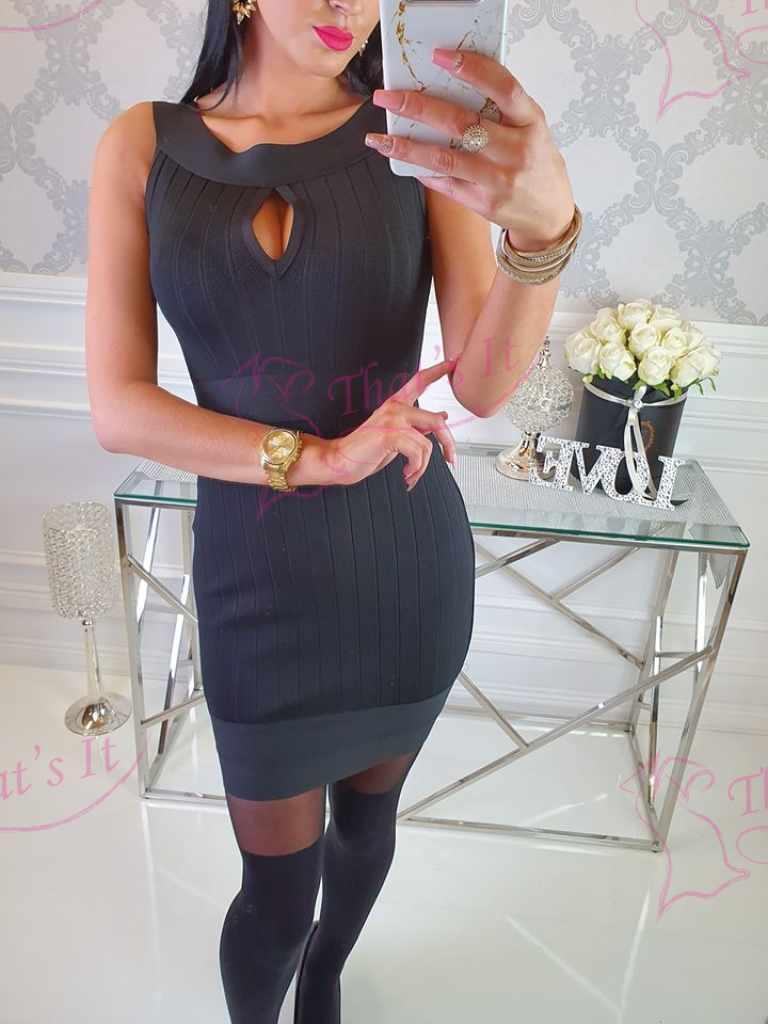Bandage stiilis kleit