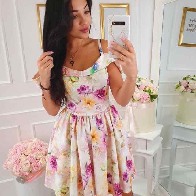 Armas õlapaeltega kleit