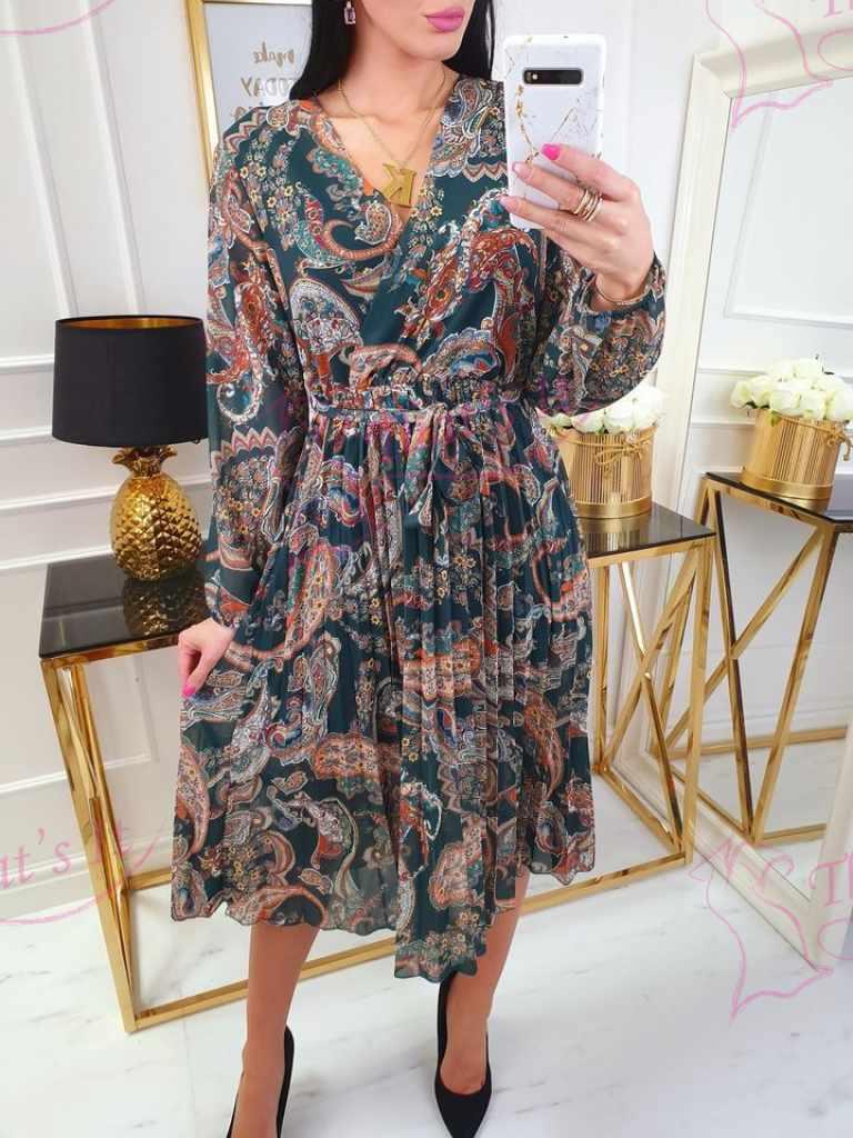 Pikem kleit aluskangaga, keskelt paelaga seotav