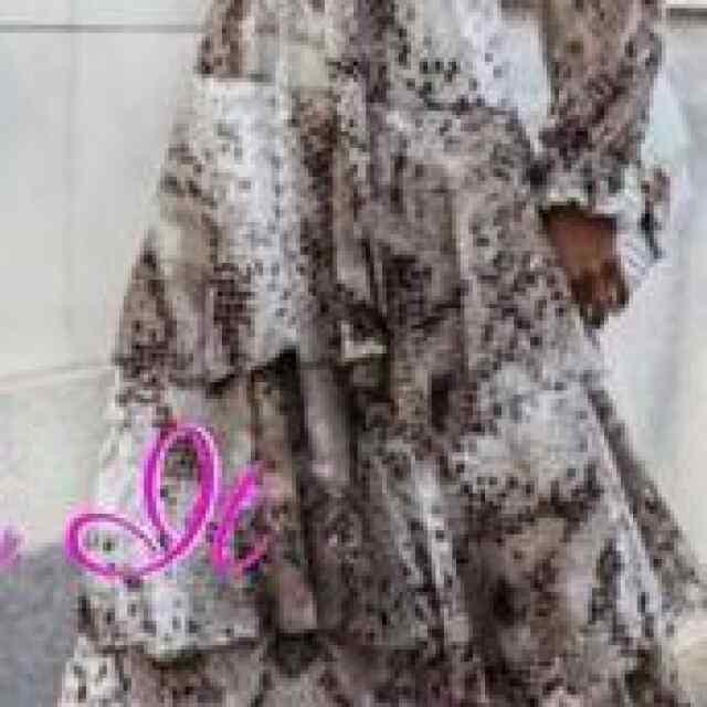 Libedamast kangast, keskelt kummi ja paelaga seotav kleit
