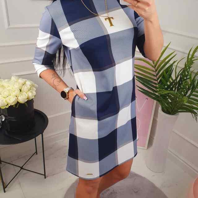 Kvaliteetne taskutega kleit