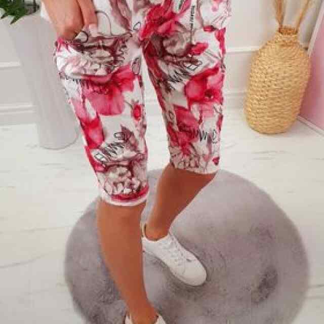 Kolmveerand stiilis püksid