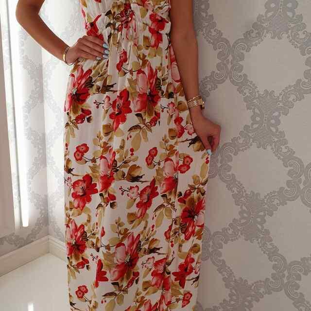 Õhulisest kangast pikem kleit