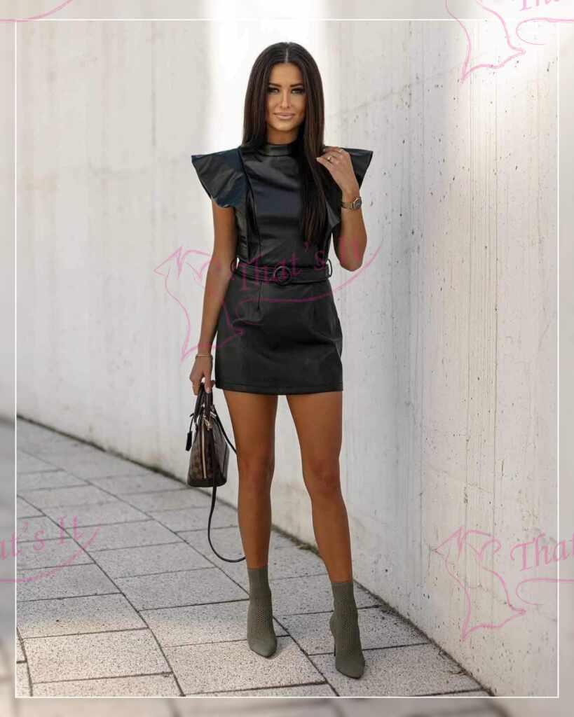 Nahaimitatsiooniga kleit